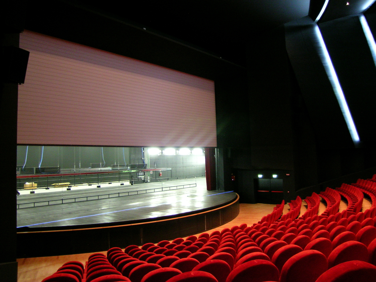 Fire Safety Curtains For Theatres Alfa System S A S